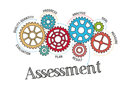 Gears and Assessment Mechanism Illustration