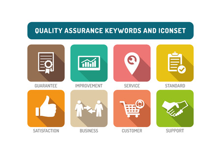 Quality Assurance Flat Icon