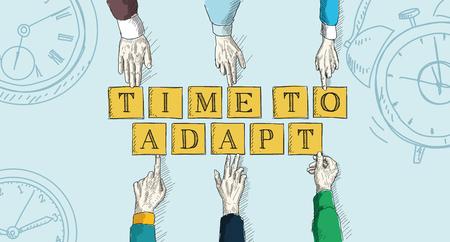 Di tempo per adattarsi