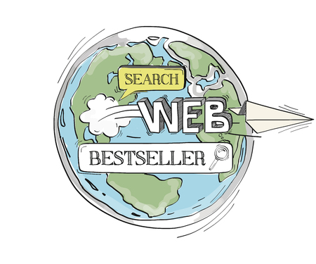 COMMUNICATION SKETCHBestseller TECHNOLOGY SEARCHING CONCEPT