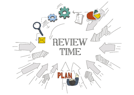 review: Arrows Showing REVIEW TIME