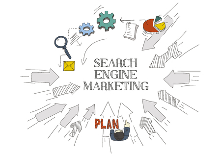 webmaster: Arrows Showing SEARCH ENGINE MARKETING