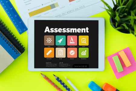 assessment system: Assessment Concept on Tablet PC Screen