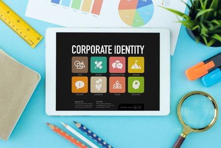 Identidad corporativa en Tablet PC de pantalla