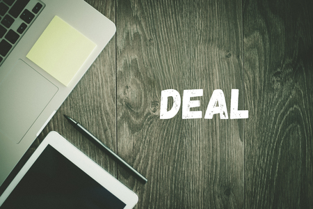 technology deal: BUSINESS WORKPLACE TECHNOLOGY OFFICE DEAL CONCEPT