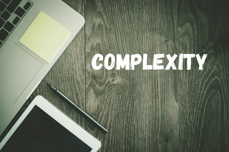 complexity: BUSINESS WORKPLACE TECHNOLOGY OFFICE COMPLEXITY CONCEPT Stock Photo