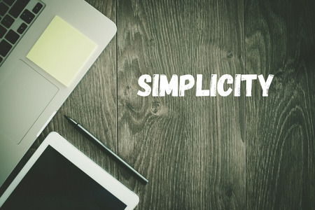 BUSINESS WORKPLACE TECHNOLOGY OFFICE SIMPLICITY CONCEPT