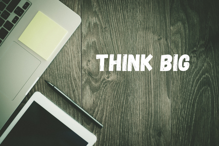 surpassing: BUSINESS WORKPLACE TECHNOLOGY OFFICE THINK BIG CONCEPT