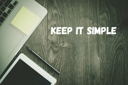 cogent: BUSINESS WORKPLACE TECHNOLOGY OFFICE KEEP IT SIMPLE CONCEPT