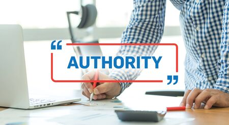 �authority: BUSINESS WORKING OFFICE BUSINESSMAN AUTHORITY CONCEPT