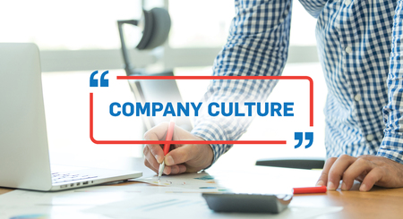 BUSINESS WORKING OFFICE BUSINESSMAN COMPANY CULTURE CONCEPT Stock Photo