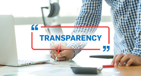 compliant: BUSINESS WORKING OFFICE BUSINESSMAN TRANSPARENCY CONCEPT Stock Photo
