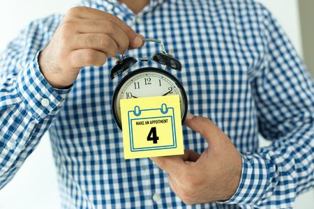 Calendar Concept: Make an Appoitment - Organizer - Planning - Schdule