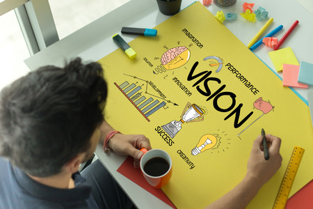 BUSINESS FINANCE COMMUNICATION MISSION AND VISION CONCEPT
