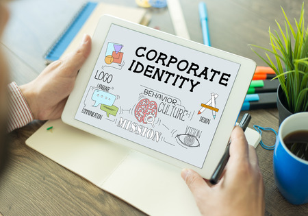 brand identity: BRAND BUSINESS MARKETING AND CORPORATE IDENTITY CONCEPT