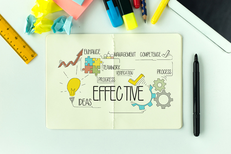 BUSINESS COMMUNICATION MARKETING AND EFFECTIVE CONCEPT