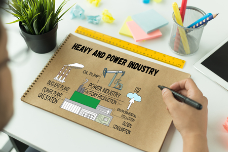 heavy industry: HEAVY AND POWER INDUSTRY CONCEPT