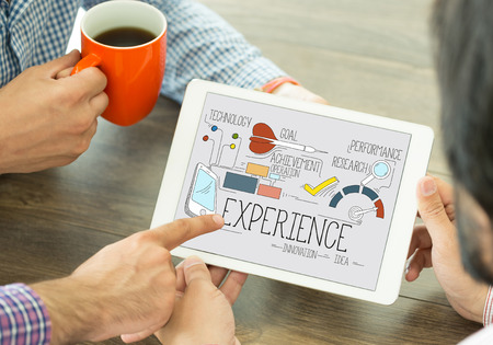 INTERNET USER KNOWLEDGE CUSTOMER AND EXPERIENCE CONCEPT