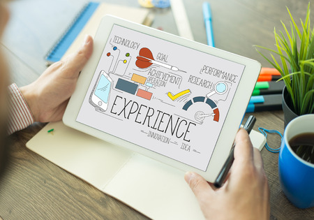 web application: INTERNET USER KNOWLEDGE CUSTOMER AND EXPERIENCE CONCEPT