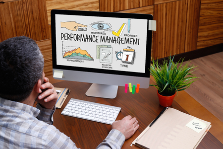 communicated: BUSINESS JOB SUCCESS AND PERFORMANCE MANAGEMENT CONCEPT