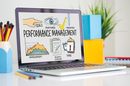 BUSINESS JOB SUCCESS AND PERFORMANCE MANAGEMENT CONCEPT