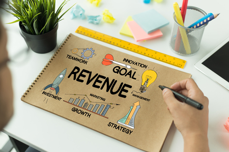 BUSINESS FINANCE GROWTH SUCCESS AND REVENUE CONCEPT