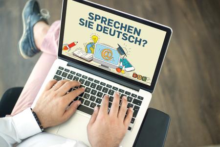 deutsch: EDUCATION STUDY LEARNING UNIVERSITY TRAINING SCHOOL COURSE DEUTSCH LANGUAGE CONCEPT Stock Photo