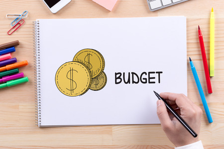 deficit target: BUSINESS FINANCE MARKET BUDGET CONCEPT