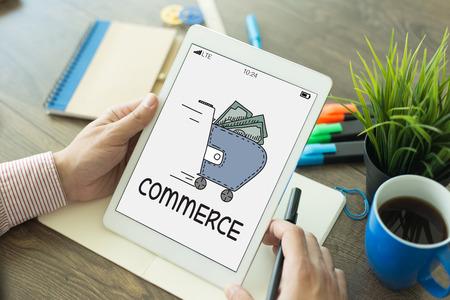 commerce: COMMERCE CONCEPT