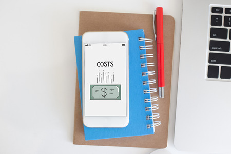 reorganization: BUSINESS FINANCE COSTS CONCEPT
