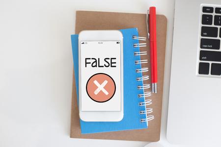 falso: FALSE CONCEPT