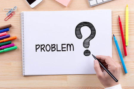 problem solution: BUSINESS CONSUMER CORPORATE SOLUTION PROBLEM CONCEPT