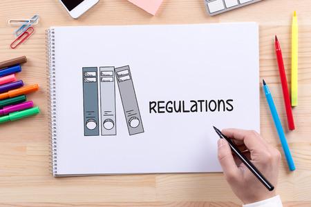 regulation: COMPLIANCE LEGAL LAW STANDARD REGULATION CONCEPT