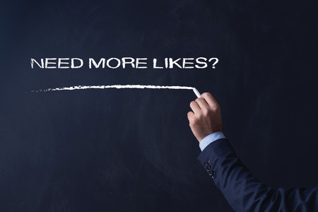 profile measurement: Business writing NEED MORE LIKES? on Blackboard