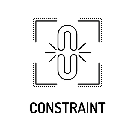 constraints: CONSTRAINT Line icon