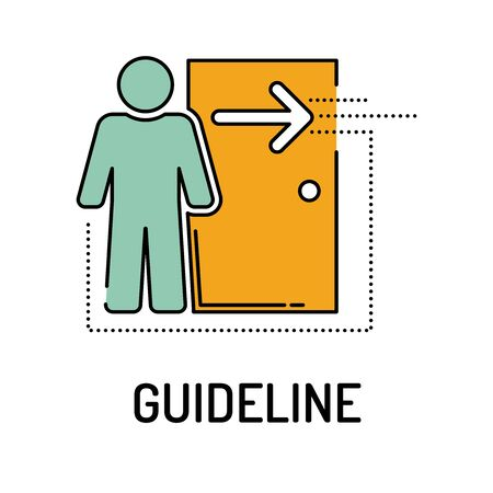 accordance: GUIDELINE Line icon