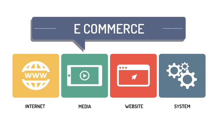 E COMMERCE - ICON SET
