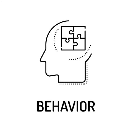 behavior: BEHAVIOR Line icon