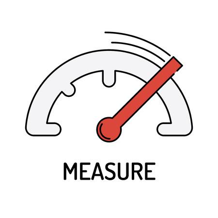 overruns: MEASURE Line icon