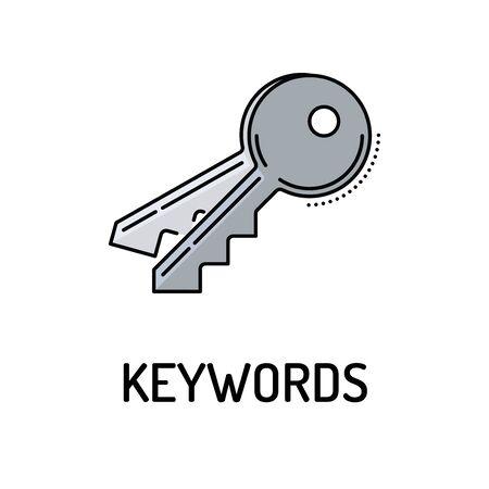 KEYWORDS Line icon