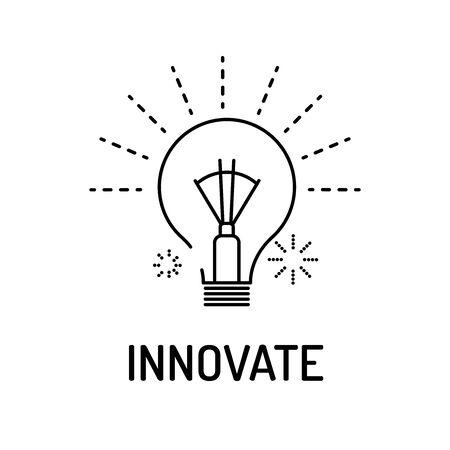 Innover ligne Icône
