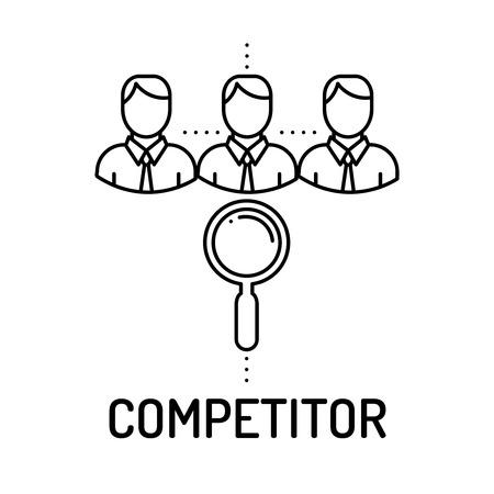 competitor: COMPETITOR Line icon