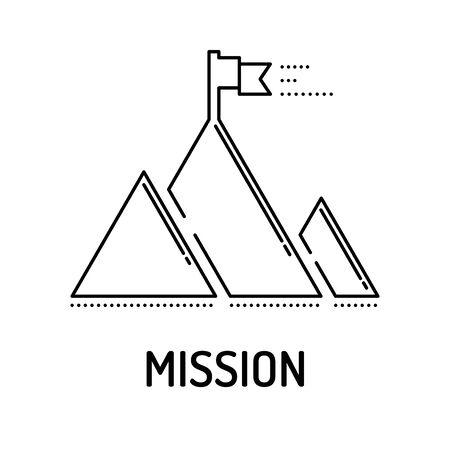 MISSION Line icon