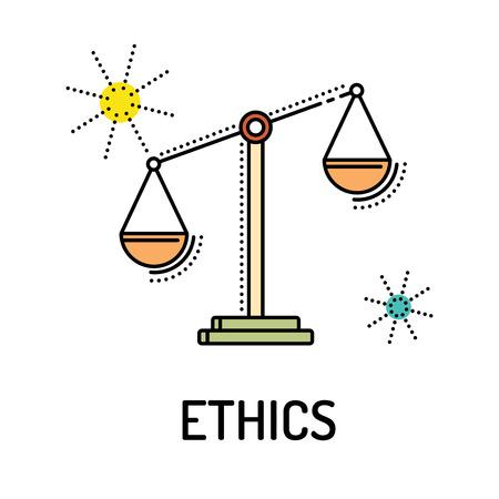 ETHICS Line Icon