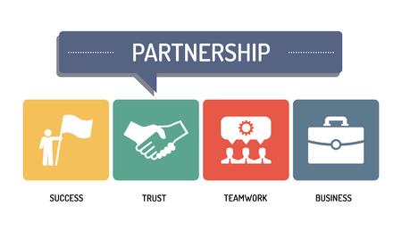 partnership icon: PARTNERSHIP - ICON SET