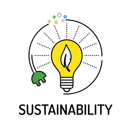 relate: SUSTAINABILITY Line icon