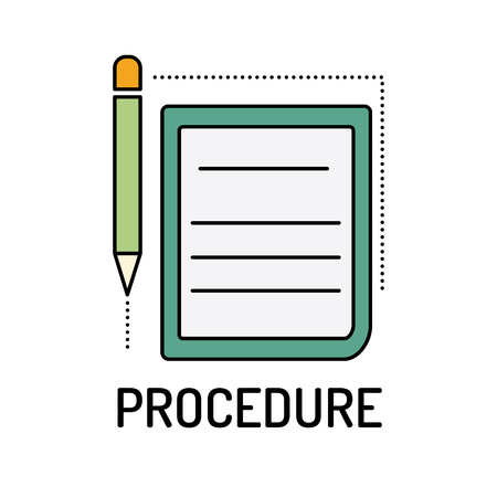 PROCEDURE Line icon