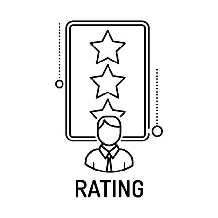 icono de clasificación Line