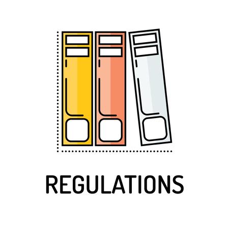 REGUALTIONS Liniensymbol