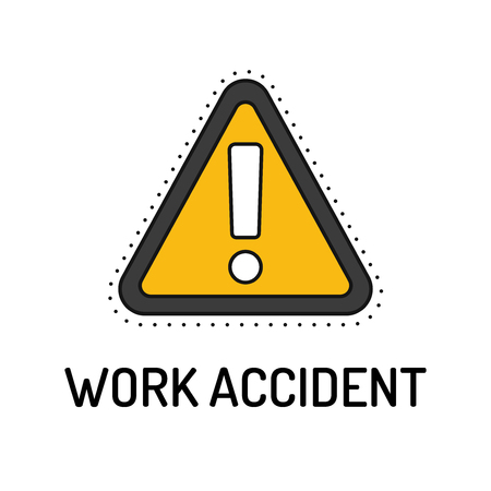 casualty: Work Accident Line Icon